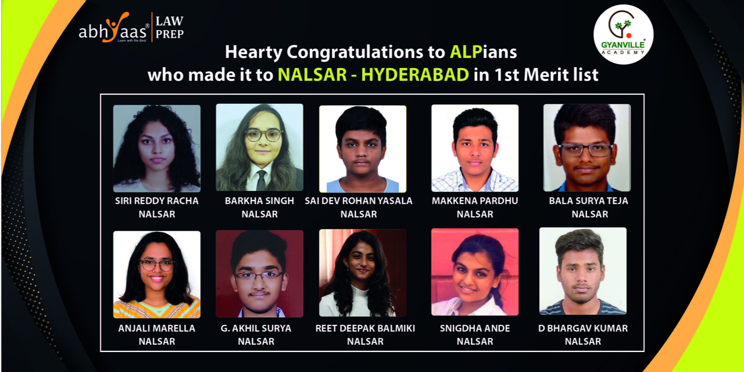 ALPians Who Made it to NALSAR